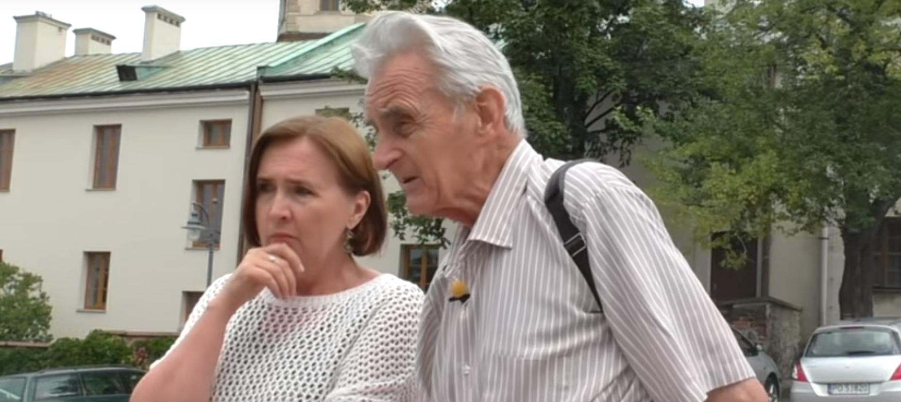 Ulica Zamkowa w Kielcach -Śladami Prawdy