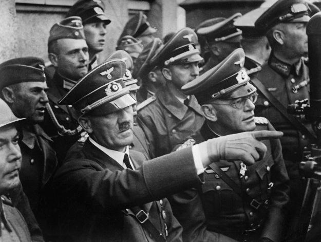 Hitler w Kielcach