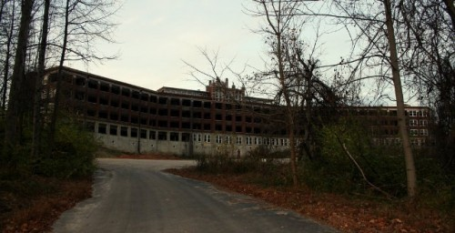 Sanatorium Waverly Hills w stanie Kentucky, USA