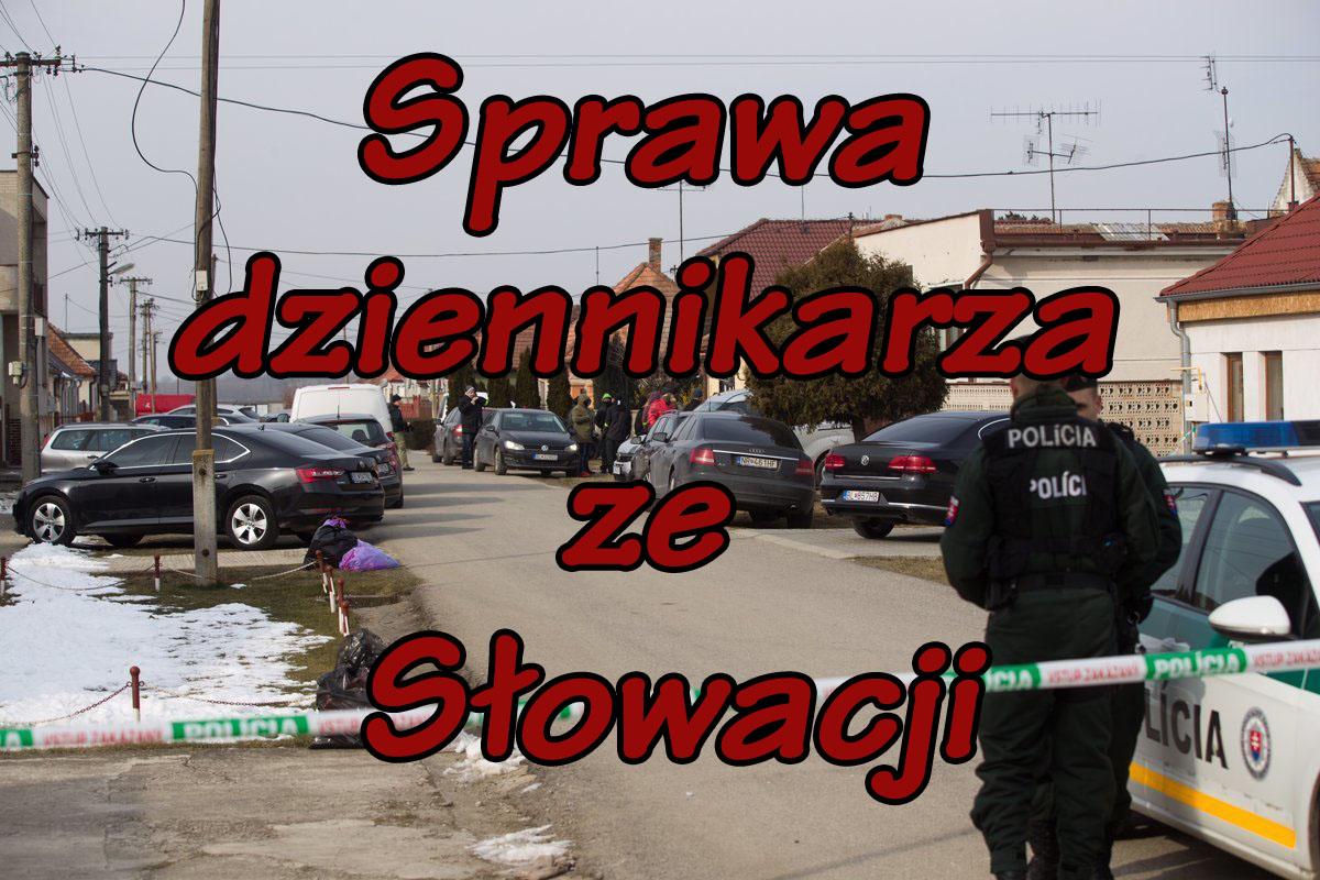 Sprawa dziennikarza ze Słowacji