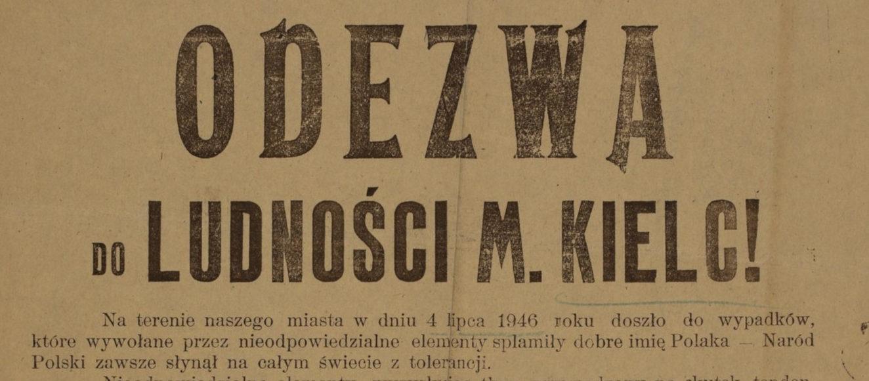 Zatuszowany bohater wydarzeń  Kieleckich z 4 lipca 1946