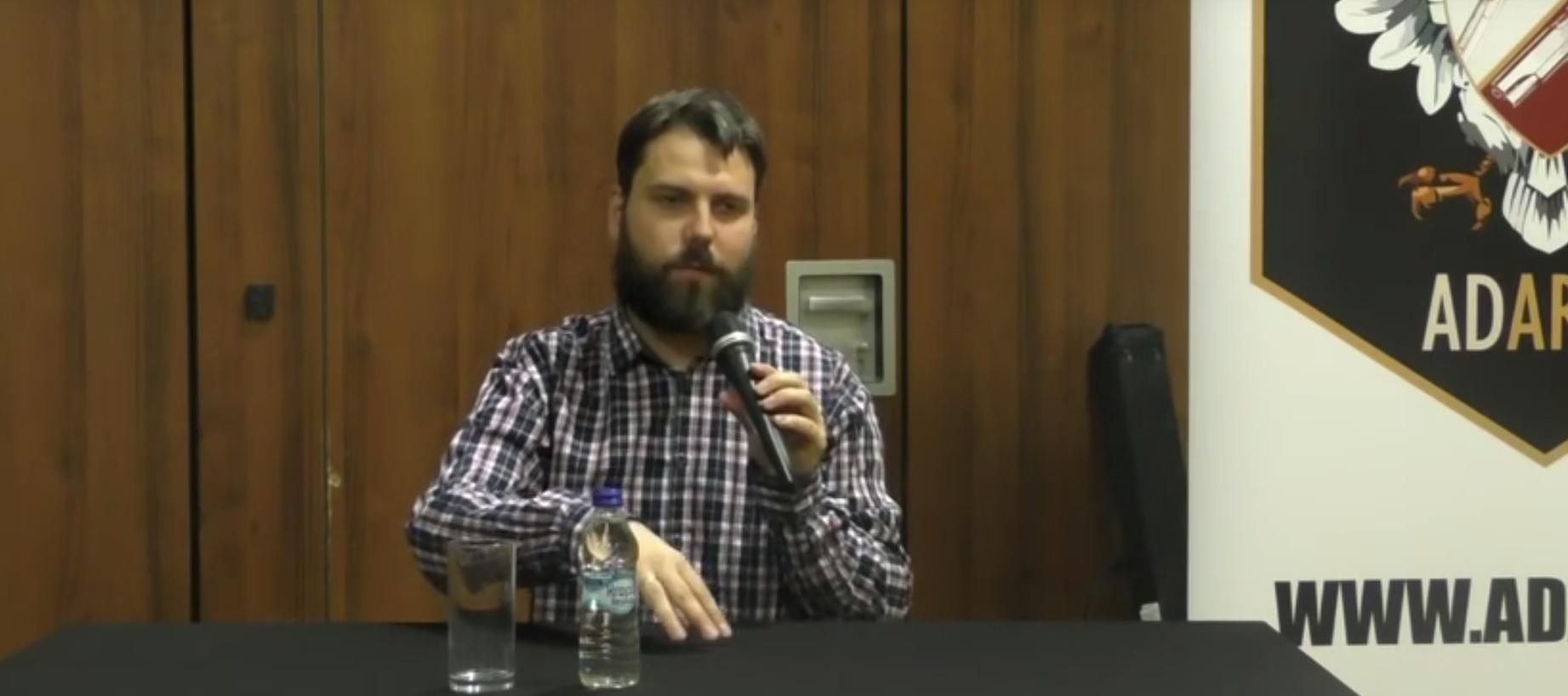 POLAKU CHWYĆ ZA BROŃ! Spotkanie z Jackiem Hogą w Kielcach